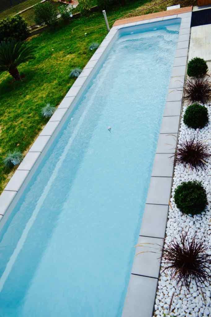couloir de nage, piscine coque
