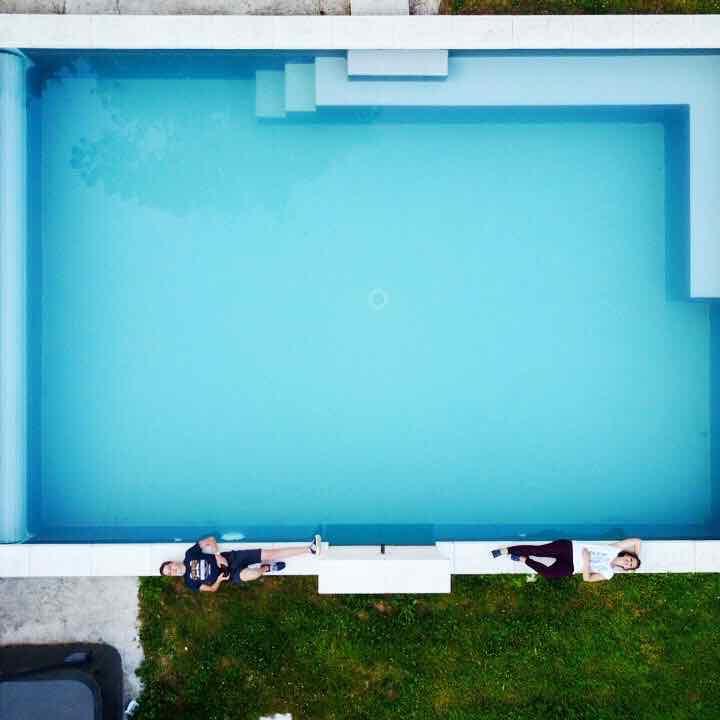 piscine béton: le bassin de vos rêves